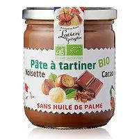 LUCIEN GEORGELIN - Pâte à Tartiner BIO - Sans Huile de Palme