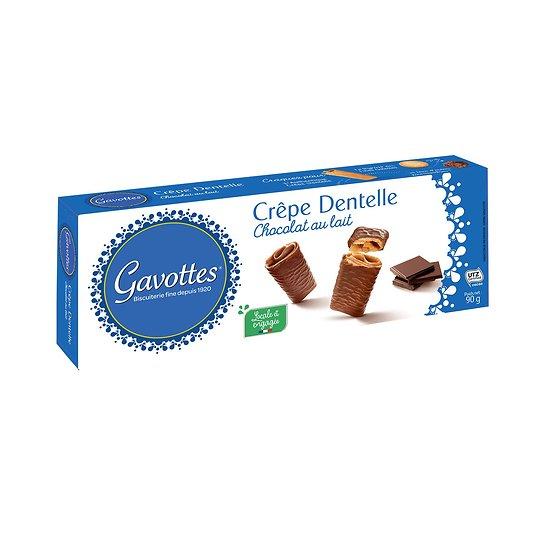 GAVOTTES - Crêpe Dentelle - Chocolat au Lait