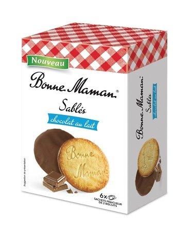 BONNE MAMAN - Sablés Chocolat au Lait