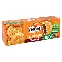 St MICHEL - Sablés Fourrés Chocolat - BIO