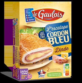 LE GAULOIS - Escalope Cordon Bleu - Dinde