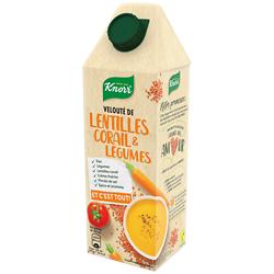 KNORR - Velouté de Lentilles Corail et Légumes