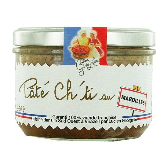 LUCIEN GEORGELIN -  Pâté Ch'ti - Maroilles