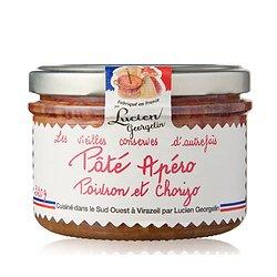 LUCIEN GEORGELIN - Pâté Apéro - Poivron et Chorizo
