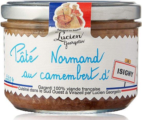 LUCIEN GEORGELIN - Pâté Normand - Camembert d'Isigny