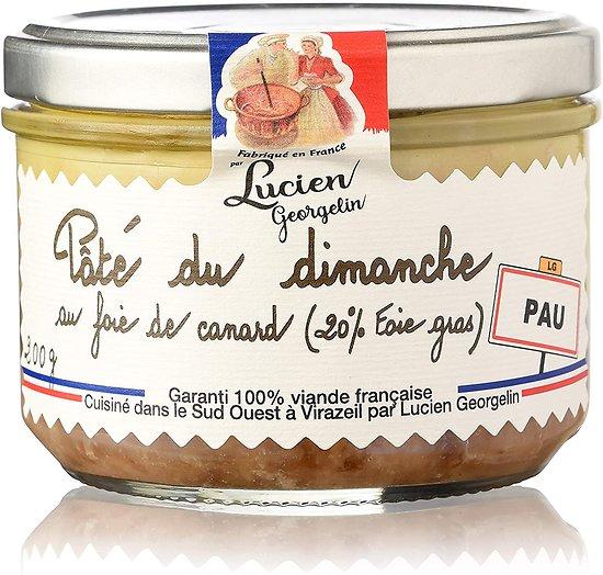 LUCIEN GEORGELIN - Pâté du Dimanche - Foie de Canard - 20% Foie Gras