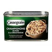 CASSEGRAIN - Champignons de Paris à la Crème Fraîche - 380g