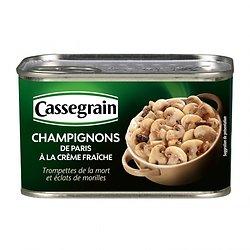 CASSEGRAIN - Champignons de Paris à la Crème Fraîche