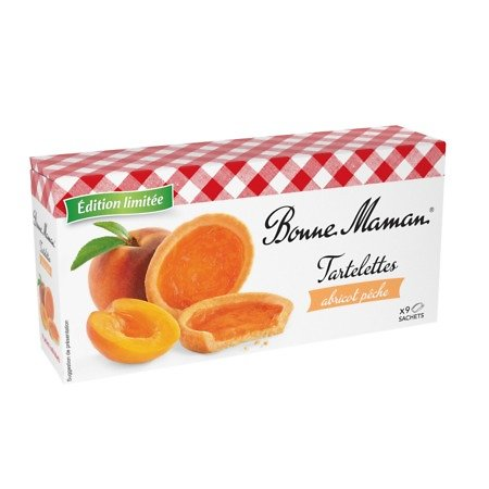 BONNE MAMAN - Tartelettes - Abricot Pêche