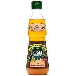 PUGET - Les Vinaigrettes - Ail / Piment de Cayenne - 0,33L