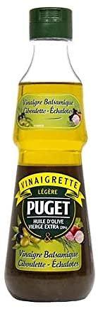 PUGET - Les Vinaigrettes - Vinaigre Balsamique / Ciboulette / Échalotes - 0,33L