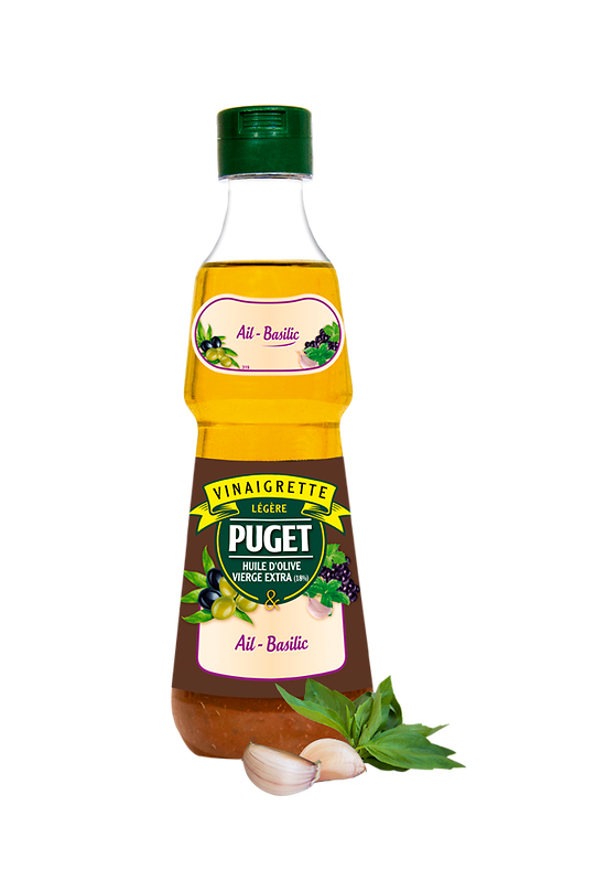 PUGET - Les Vinaigrettes - Ail / Basilic - 0,33L