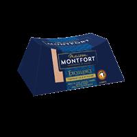 MAISON MONTFORT - Bloc de Foie Gras de Canard - Finement Salé et Poivré - 9-10 Parts