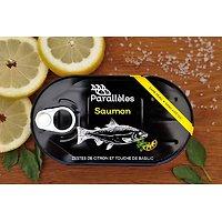 PARALLÈLES - Saumon - Zestes de Citron et Touche de Basilic