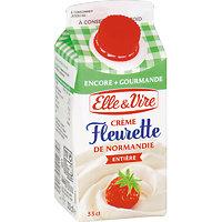 ELLE & VIVRE - Crème Fleurette de Normandie - Entière - 33cl
