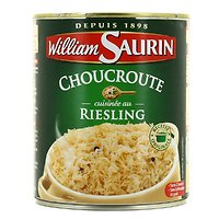 WILLIAM SAURIN - La Choucroute Cuisinée au Riesling 800G