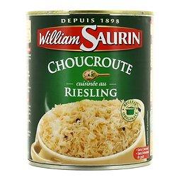 WILLIAM SAURIN - La Choucroute Cuisinée au Riesling