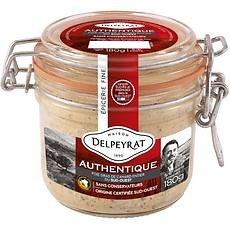 DELPEYRAT - Foie Gras de Canard Entier Authentique 180g