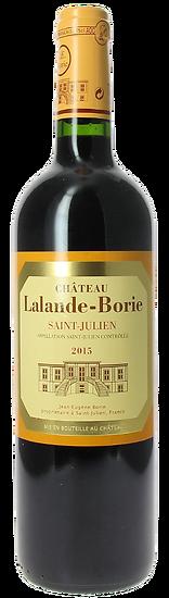 Château Lalande Borie Saint Julien 2015