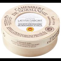 Camembert de Normandie entier AOP 250 g Laëtitia Gaborit