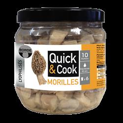 BORDE - Morilles - Quick & Cook