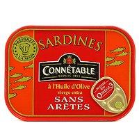 CONNÉTABLE - Sardines - Huiles d'Olives - Sans Arêtes