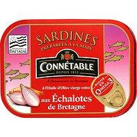CONNÉTABLE - Sardines - Huiles d'Olives - Échalotes de Bretagne