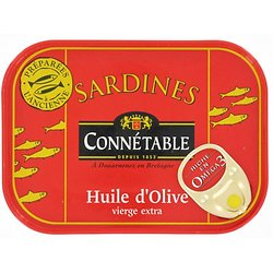 CONNÉTABLE - Sardines - Huiles d'Olives