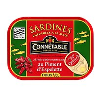 CONNÉTABLE - Sardines - Huiles d'Olives - Piment d'Espelette