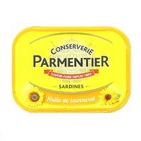 PARMENTIER - Sardines - Huile de Tournesol