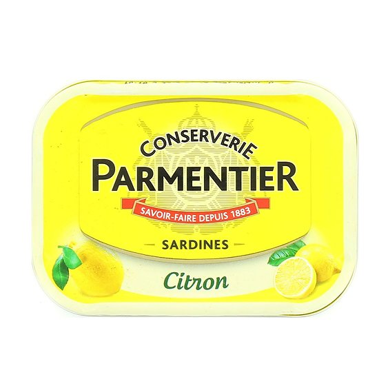 PARMENTIER - Sardines - Citron