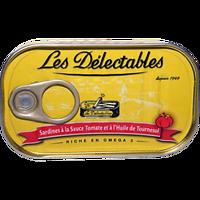 LES DÉLECTABLES - Sardines - Sauce Tomate / Huile de Tournesol