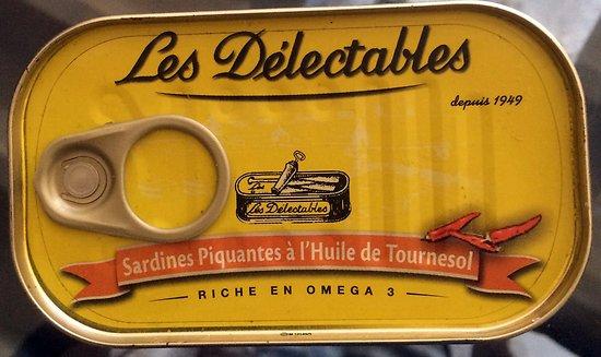 LES DÉLECTABLES - Sardines Piquantes - Huile de Tournesol