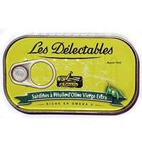 LES DÉLECTABLES - Sardines - Huile d'Olive Vierge Extra