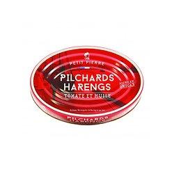 PETIT PIERRE - Pilchards Harengs - Tomates et Huile
