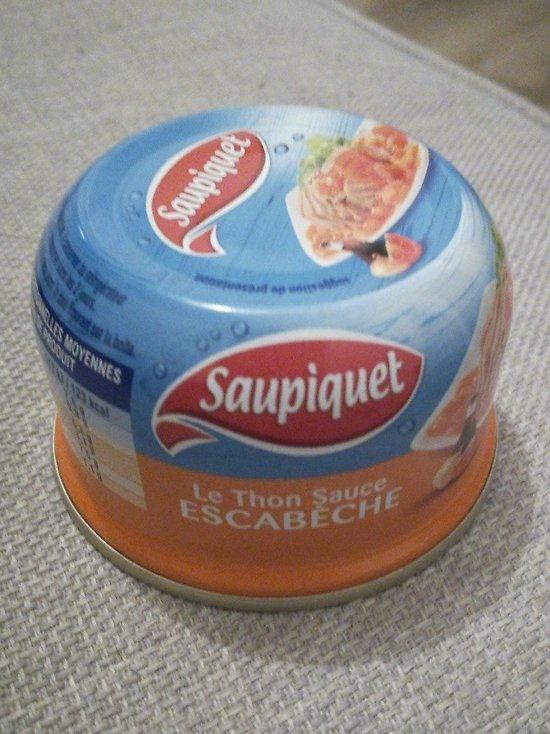 SAUPIQUET - Le Thon Sauce Escabèche