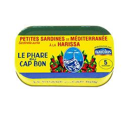 LE PHARE DU CAP BON - Petites Sardines de Méditerranée à la Harissa