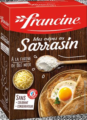 FRANCINE - Mes Crêpes au Sarrasin