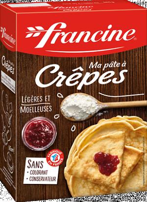 FRANCINE - Ma pâte à Crêpes