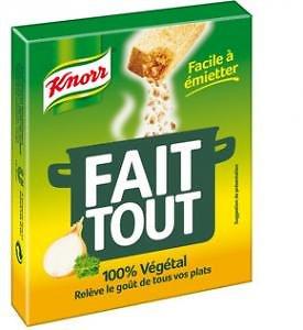 KNORR - Fait Tout - 100% Végétal
