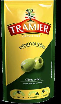 TRAMIER - Olives Vertes - dénoyautées