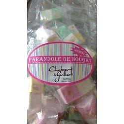 CHABERT & GUILLOT - Nougat Tendre De Montélimar Farandole Vanille, Citron, Pistache, Framboise.
