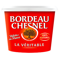 BORDEAU CHESNEL - Rillettes du Mans La Véritable - 220g