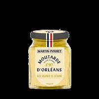 MARTIN-POURET - Moutarde d'Orléans - Graines de Sésame