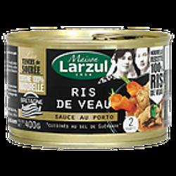 MAISON LARZUL - Ris au Veau - Sauce au Porto