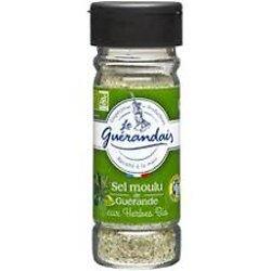 LE GUÉRANDAIS - Sel Moulu de Guérande - Aux Légumes et Herbes BIO