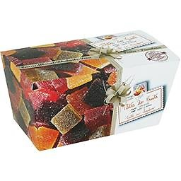 LUCIEN GEORGELIN - Pâtes de Fruits Assorties - cassis / abricot / rhubarbe / poire / fraise / framboise