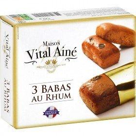 MAISON VITAL AIMÉ - 3 Babas au Rhum