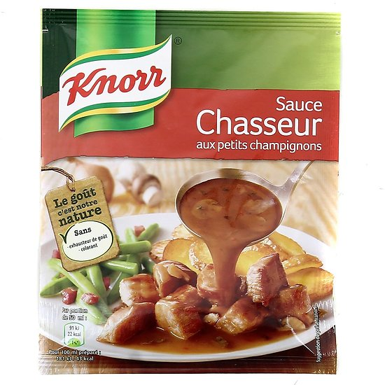 KNORR - Sauce Chasseur