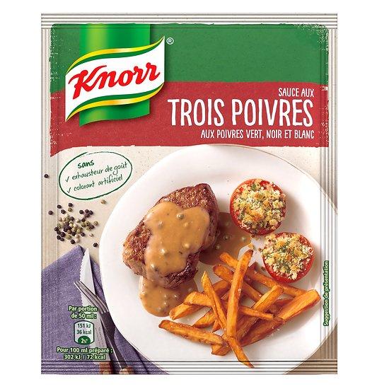 KNORR - Sauce Trois Poivres